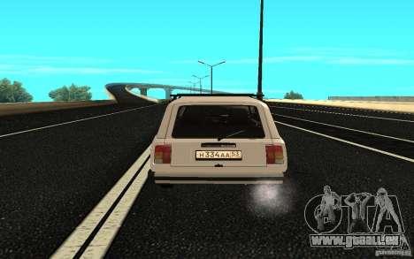 VAZ 2104 für GTA San Andreas zurück linke Ansicht