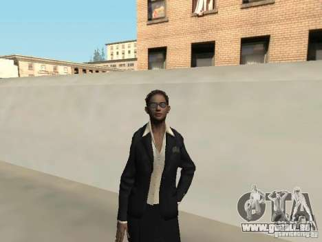 F.B.I weibliche Haut für GTA San Andreas