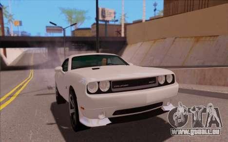 Dodge Challenger für GTA San Andreas rechten Ansicht