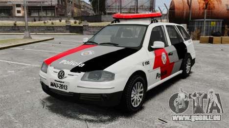 Volkswagen Parati G4 PMESP ELS pour GTA 4