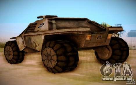 MK-15 Bandit für GTA San Andreas zurück linke Ansicht