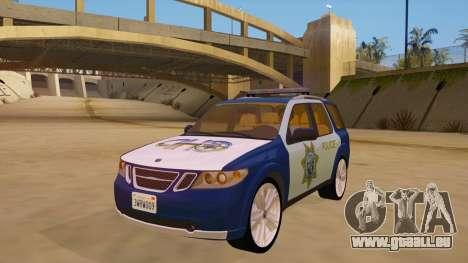 Saab 9-7X Police pour GTA San Andreas
