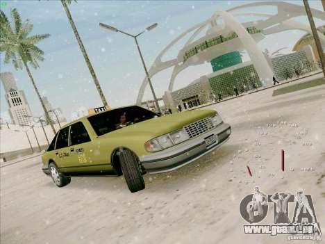 SA Taxi HD de GTA 3 pour GTA San Andreas laissé vue