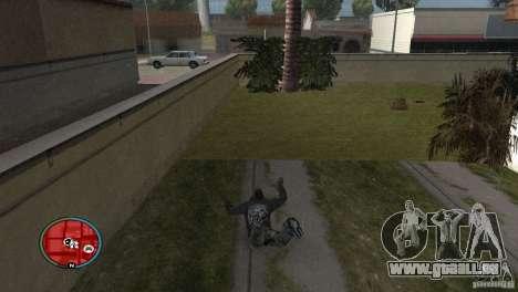 GTAIV HUD für ein Wide screen (16: 9) v2 für GTA San Andreas zweiten Screenshot