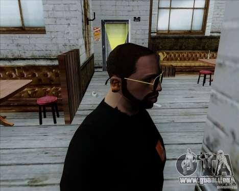 Aviator-Brille für GTA San Andreas zweiten Screenshot
