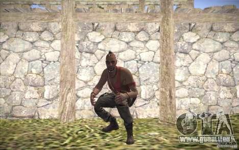 Vaas de Far Cry 3 pour GTA San Andreas deuxième écran
