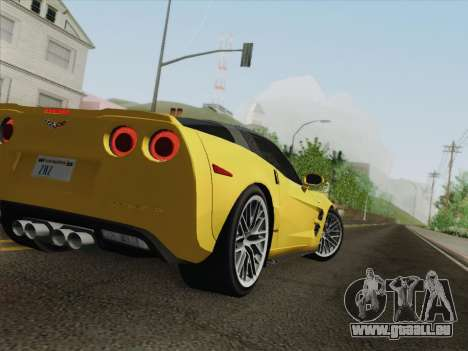 Chevrolet Corvette ZR1 für GTA San Andreas Räder