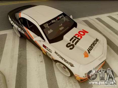 Chevrolet Camaro Hankook Tire für GTA San Andreas Innenansicht