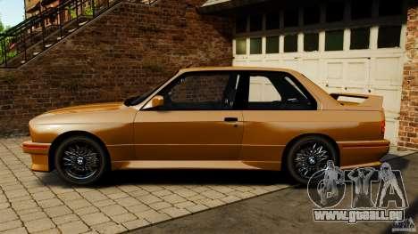 BMW M3 E30 Stock 1991 pour GTA 4 est une gauche