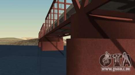 Le nouveau pont de LS-LV pour GTA San Andreas deuxième écran