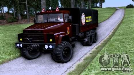 École de conduite de camion pour GTA San Andreas