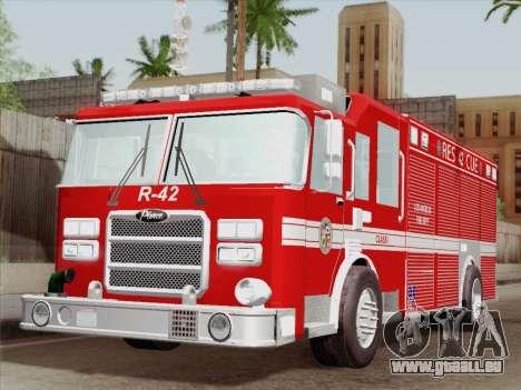 Pierce Contender LAFD Rescue 42 für GTA San Andreas