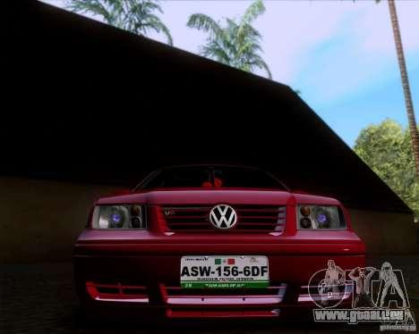 Volkswagen Jetta 2005 für GTA San Andreas Rückansicht