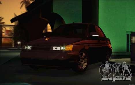 VAZ 2110 Drain pour GTA San Andreas vue intérieure