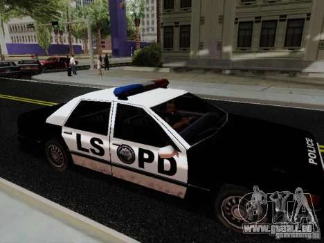 Elegant Police LS pour GTA San Andreas laissé vue