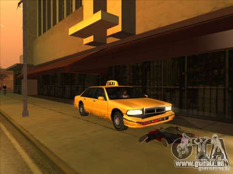 Blood drive v2 pour GTA San Andreas