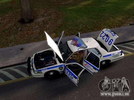 Ford Crown Victoria NYPD für GTA 4 rechte Ansicht