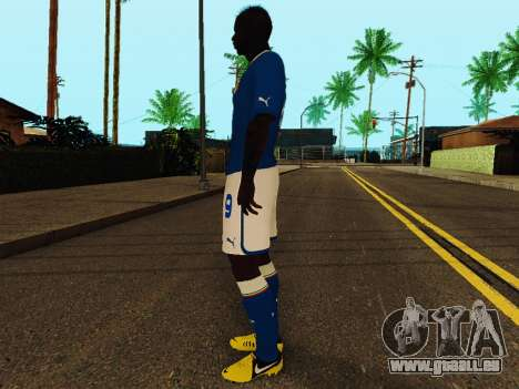 Mario Balotelli v4 für GTA San Andreas dritten Screenshot