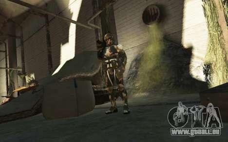 Crysis 3 The Hunter skin für GTA 4 fünften Screenshot