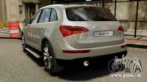 Audi Q5 Chinese Version für GTA 4 hinten links Ansicht