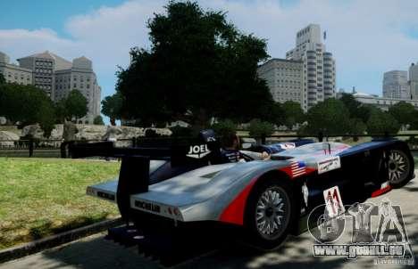 Panoz LMP-1 Roadster S 2003 pour GTA 4 est une gauche