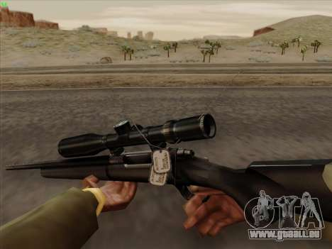 Remington 700 für GTA San Andreas dritten Screenshot