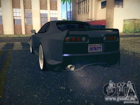 Toyota Supra VeilSide Fortune 2003 pour GTA San Andreas vue de côté