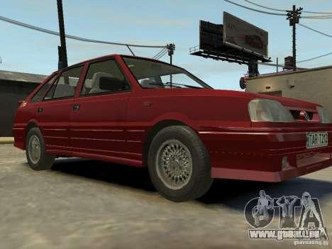 FSO Polonez Caro pour GTA 4 Vue arrière