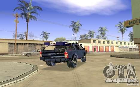 Toyota Hilux Rally Version für GTA San Andreas rechten Ansicht