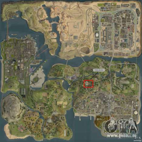 Village Stepanovo pour GTA San Andreas cinquième écran