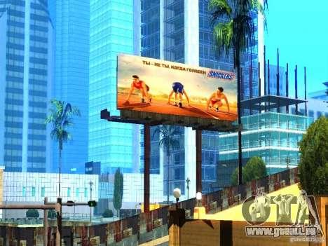 Nouvelles textures de Los Santos pour GTA San Andreas quatrième écran