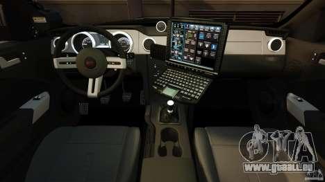 Saleen S281 Extreme Unmarked Police v1.5 für GTA 4 Rückansicht