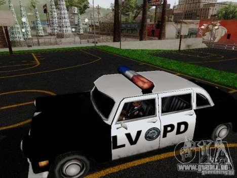 Cabbie Police LV pour GTA San Andreas laissé vue