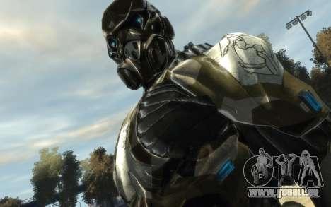 Crysis 3 The Hunter skin pour GTA 4