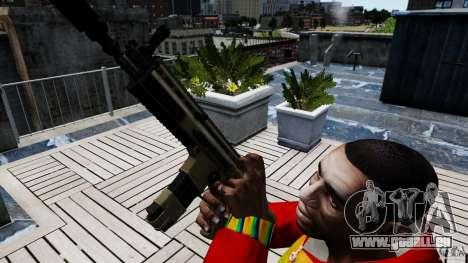 SCAR-L pour GTA 4 troisième écran