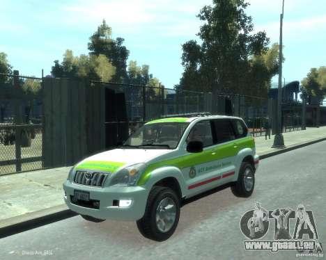 Toyota Land Cruiser Prado Police für GTA 4
