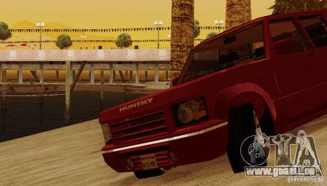 Huntley Freelander pour GTA San Andreas vue de dessous