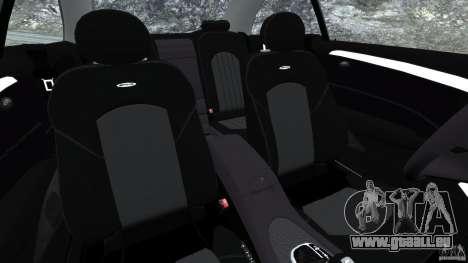 Mercedes-Benz CLK 63 AMG für GTA 4 Innenansicht