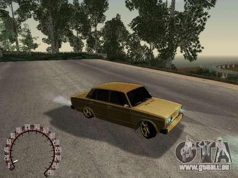 VAZ 2105 or pour GTA San Andreas vue de droite