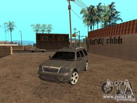 Lincoln Navigator 2004 pour GTA San Andreas