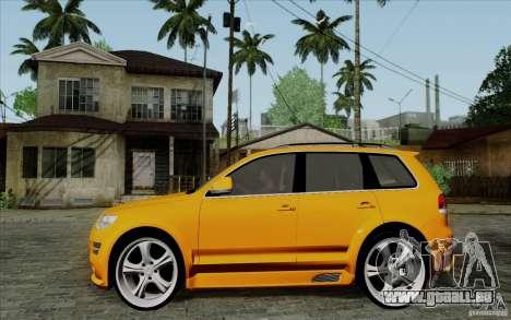 Volkswagen Touareg R50 Light pour GTA San Andreas laissé vue