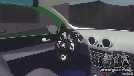 Volkswagen Saveiro 2013 pour GTA San Andreas sur la vue arrière gauche
