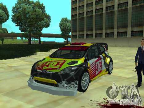 Ford Fiesta H.F.H.V. Ken Block Gymkhana 5 pour GTA San Andreas