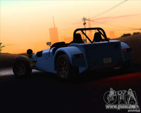 Caterham Superlight R500 pour GTA San Andreas vue de côté