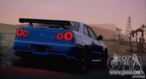 SA_NGGE ENBSeries v1.2 Final pour GTA San Andreas dixième écran