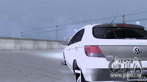 Volkswagen Golf G5 pour GTA San Andreas vue intérieure