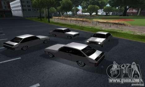 Ford Escort RS 1600 für GTA San Andreas Innenansicht