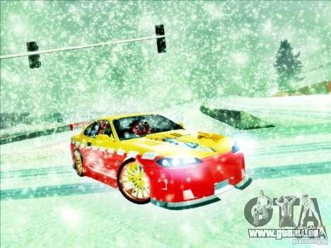 Nissan Silvia S15 Calibri-Ace pour GTA San Andreas laissé vue
