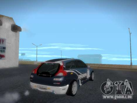 Volvo C30 Race für GTA San Andreas Seitenansicht
