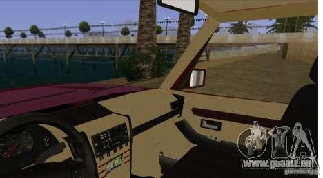 Huntley Freelander pour GTA San Andreas vue intérieure